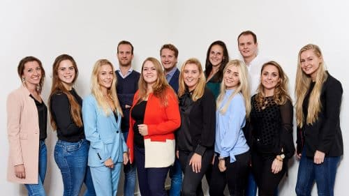 Tessa Rijn en haar team TaskHero groepsfoto