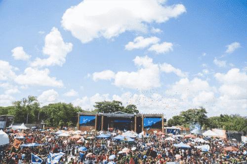 Werken als Festivalmedewerker