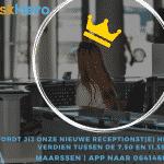 Receptionist(e) gezocht | Maarssen | Parttime